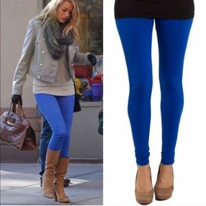TRINITY buttery soft leggings - ROYAL BLUE